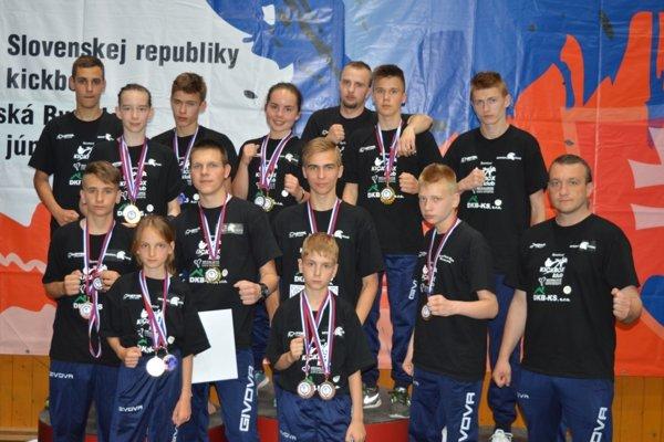 V Banskej Bystrici nazbierali Michalovčania 17 medailí.
