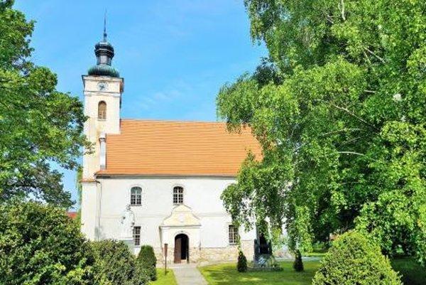 Evanjelický kostol v Hlbokom