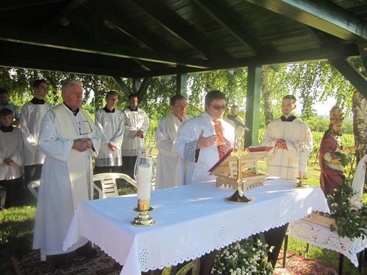 44476f8ee Dolnoohajčania si uctili svätého Urbana - SME | MY Nové Zámky