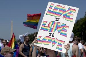 Pochod za práva LGBTI komunity.