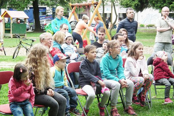 Program potešil najmä najmladších obyvateľov Lánov.