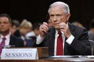 Jeff Sessions na vypočutí v Senáte