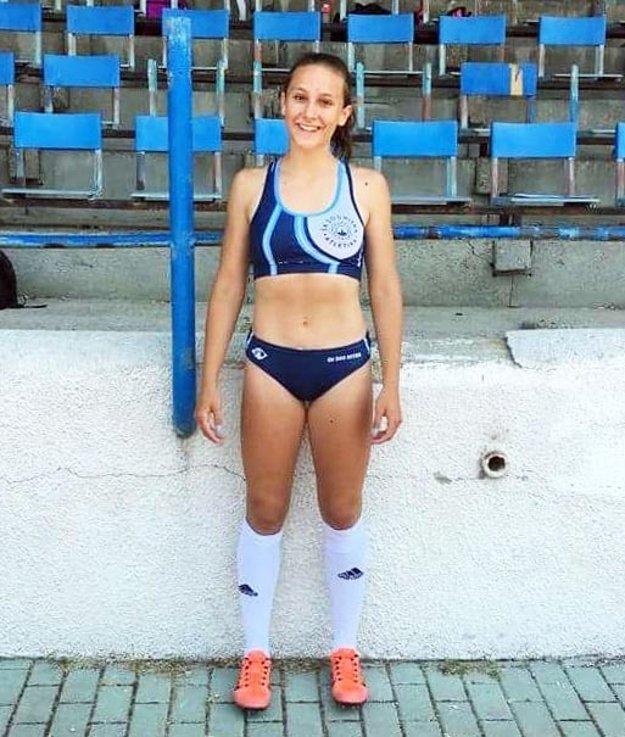 Kristína Kelemenová vyhrala šprint na 60 metrov.