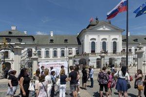 Deň otvorených dverí v Prezidentskom paláci pri príležitosti 3. výročia inaugurácie prezidenta Andreja Kisku.