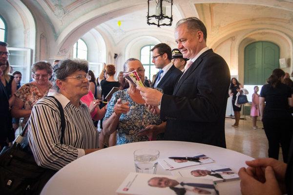 Prezident Andrej Kiska.