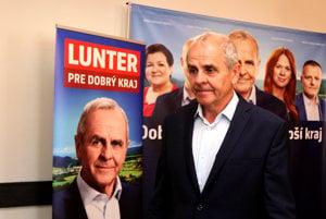 Kandidát na župana Ján Lunter.