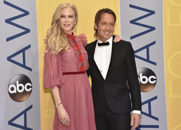 Nicole Kidman tvorí s Keithom Urbanom nerozlučný pár