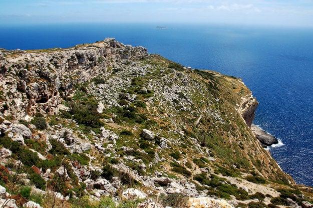 Dingli Cliffs ponúka krásny panoramatický výhľad.