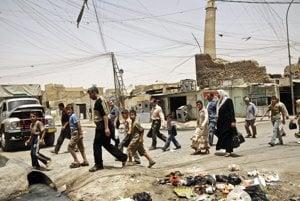 Naklonený minaret al-Hadba na Veľkej mešite al-Núriho, bol jedným z najväčších symbolov irackého Mosulu.