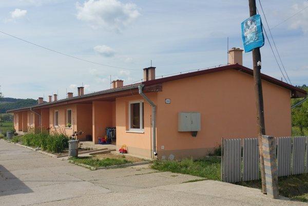 Nájomné byty v Tachtách.