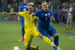 Stanislav Lobotka predviedol proti Švédsku skvelý výkon.