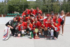 Indiáni - víťazi Skalickej hokejbalovej ligy