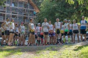 Na štarte 15. ročníka tradičného behu do vrchu, ktorý predtým dva roky pauzoval.