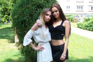 Emma (vpravo) a Simona sa priatelia už roky.
