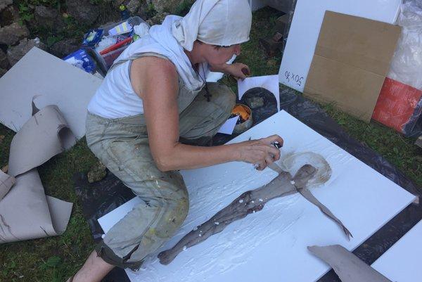 Umelci si prostredie Skalky pochvaľujú.