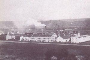 Francková továreň v Košiciach.