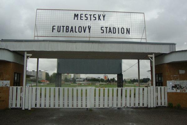 Futbalový štadión v Rimavskej Sobote.