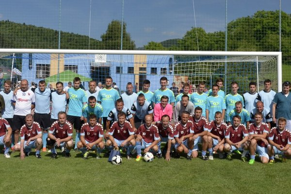Účastníci zápasu v Dolnej Porube