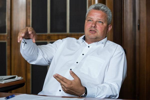 Riaditeľ ŽSR Martin Erdössy.