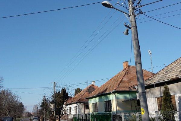 V meste vymenili verejné osvetlenie.
