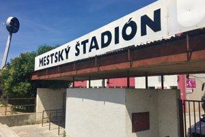 Futbalový štadión AS Trenčín na Sihoti.