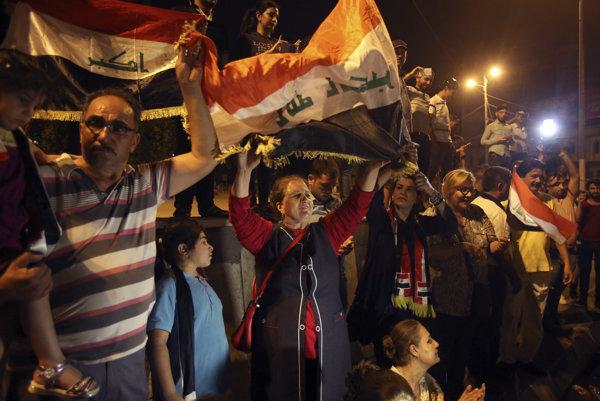 V Iraku sa teraz oslavuje, no s problémami ešte nie je koniec.