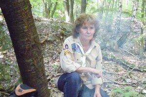 Jana Nešporová je veľkou milovníčkou prírody.