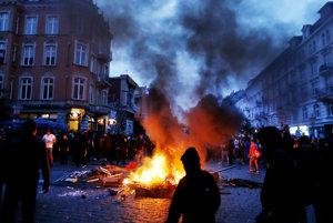 Hamburg počas summitu G20 vďaka radikálnym ľavičiarom pripomínal vojnovú zónu.