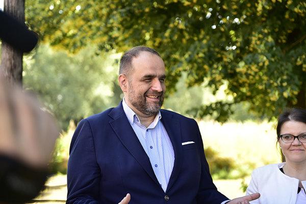 Predseda Bratislavského samosprávneho kraja Pavol Frešo.