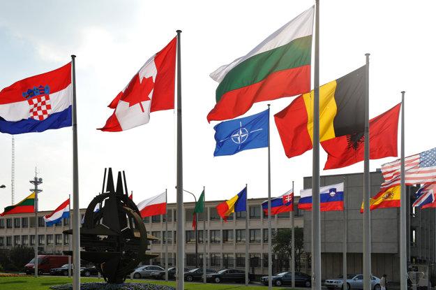 Centrála NATO v Bruseli.