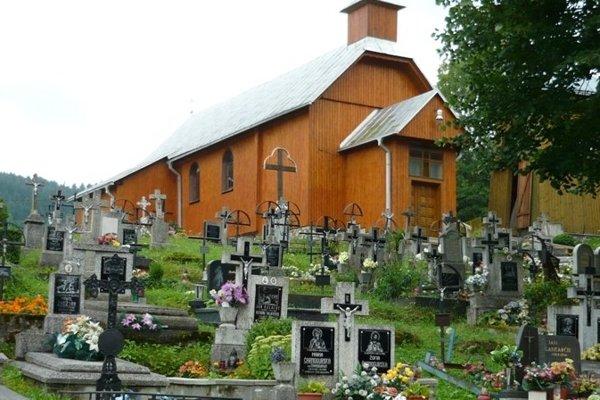 Kostol sv. Jozefa z 19. storočia v Malej Frankovej.