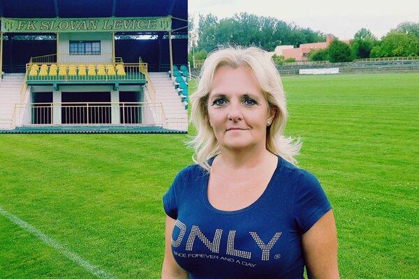 Prezidentka klubu FK Slovan Levice, Zuzana Kolčárová, považuje za nesmierne dôležité, aby klub podchytil generálny sponzor.