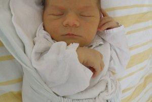 Najkrajším zážitkom pre Zuzanu a Lukáša Hradňanských z Milochova bolo 6. júla narodenie prvého syna Marka (3570 g a 50 cm).