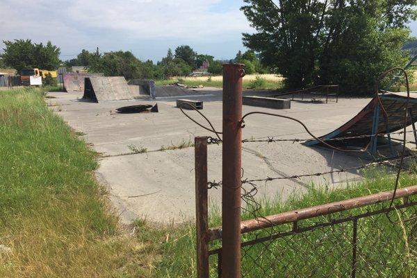 Skatepark v Trenčíne.