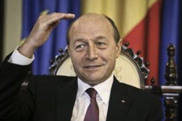 Rumunský prezident Traian Basescu.