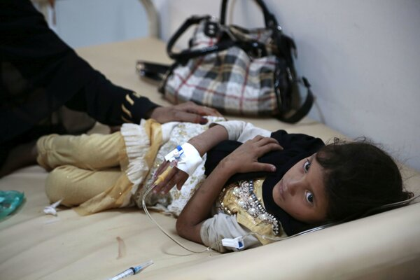 Záškrt sa v Jemene objavil vlani v októbri.