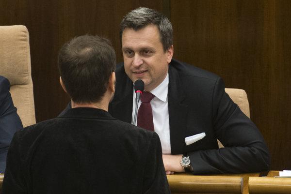 Andrej Danko a Igor Matovič.