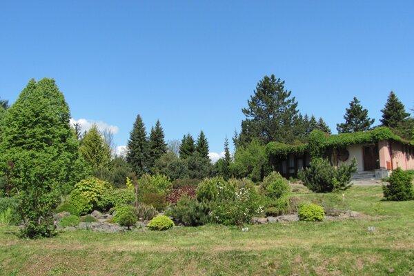 Arborétum Zvolen.