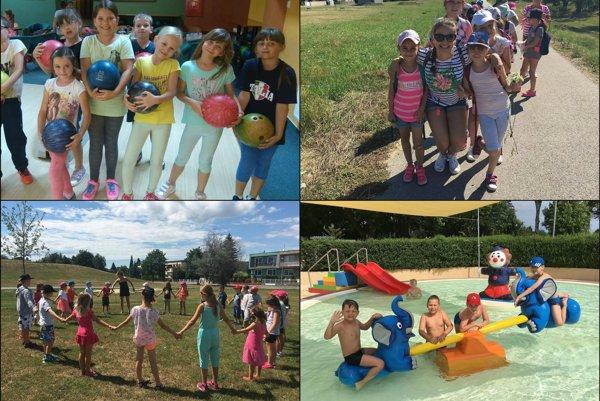 Parádny letný tábor na Hradnej škole