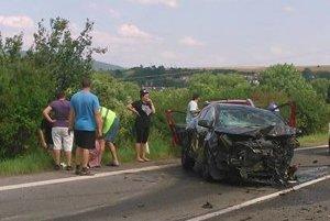 Nehoda pri Hanušovciach.