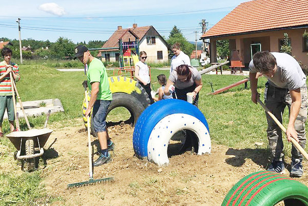 Peniaze na nový park dostalo Oravské centrum mládeže zviacerých grantov.