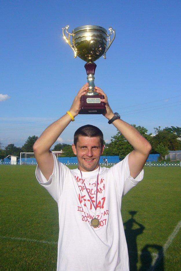 Kapitán topoľčianskeho tímu Juraj Bačík.