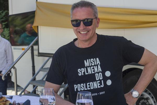 Bývalý riaditeľ RTVS Václav Mika.