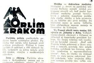 Články z periodika Nová žena z roku 1939.