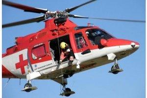 Záchranársky vrtuľník zasahoval dnes aj na Kysuciach.