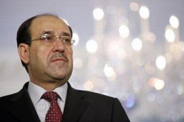 Iracký premiér Núrí Malíkí.