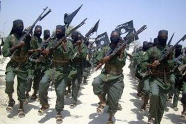 Militanti zo skupiny aš-Šabáb.