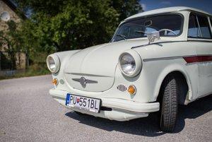 Unikátny Trabant 600 z prvej série 266 kusov, ktoré v roku 1963 doviezli do Československa.