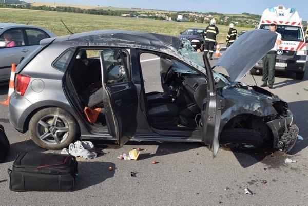 Pri tragickej nehode vyhasol život vodiča z Košíc.
