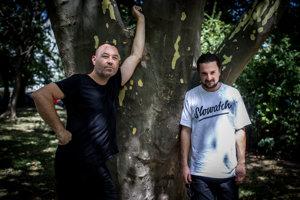 Janči Ján Trstenský a Juraj Podmanický, zakladatelia festivalu Grape.